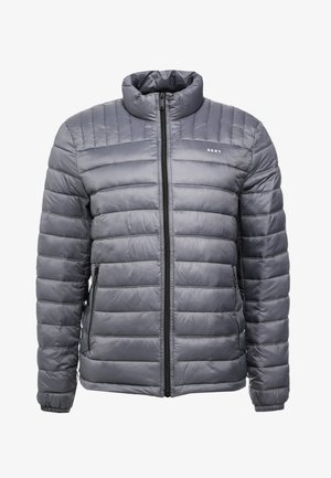PACKABLE QUILTED PUFFER - Välikausitakki - charcoal