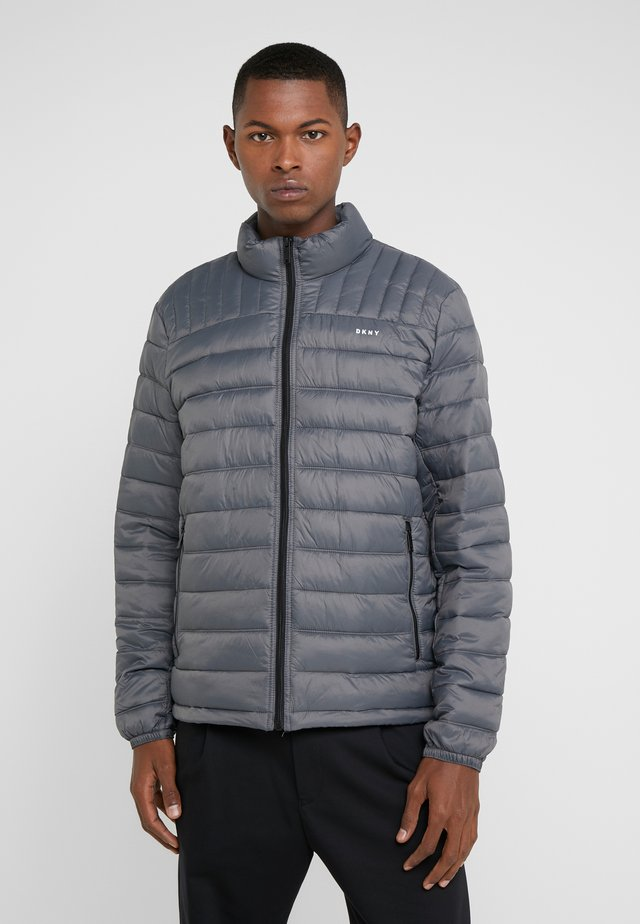 PACKABLE QUILTED PUFFER - Light jacket - charcoal
