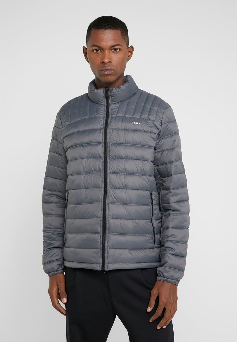 DKNY - PACKABLE QUILTED PUFFER - Übergangsjacke - charcoal