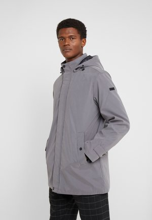 HOODED JACKET - Parka - grey