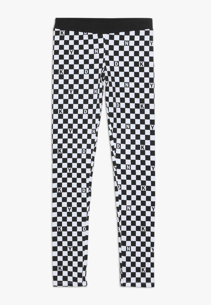 DKNY - Legging - schwarz/weiß