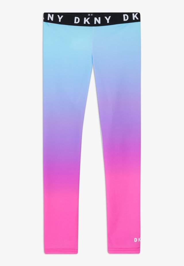 Leggings - pinkblue