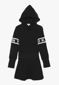 DKNY - LANGARM - Jersey dress - schwarz - 0