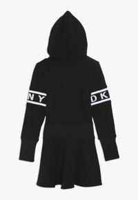 DKNY - LANGARM - Jersey dress - schwarz - 1