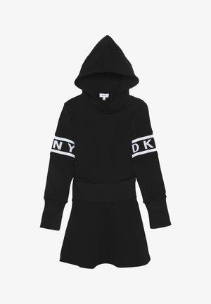 LANGARM - Žerzejové šaty - schwarz