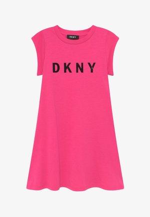 SLEEVE - Jersey dress - pink