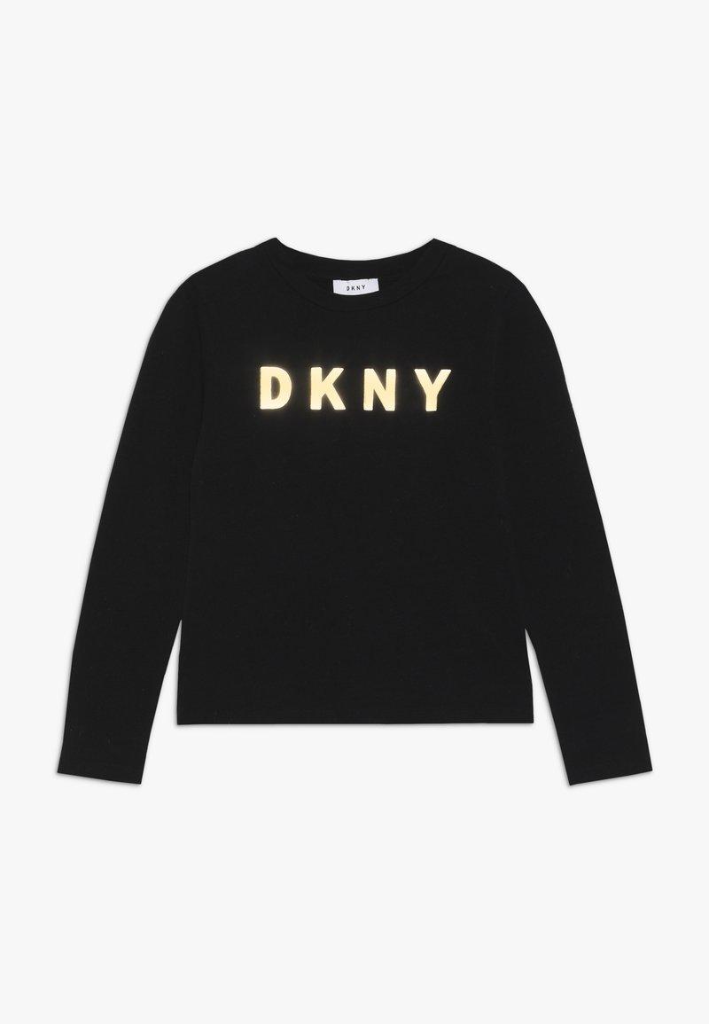 DKNY - Long sleeved top - schwarz