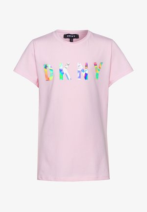 SHORT SLEEVES - Triko s potiskem - pale pink
