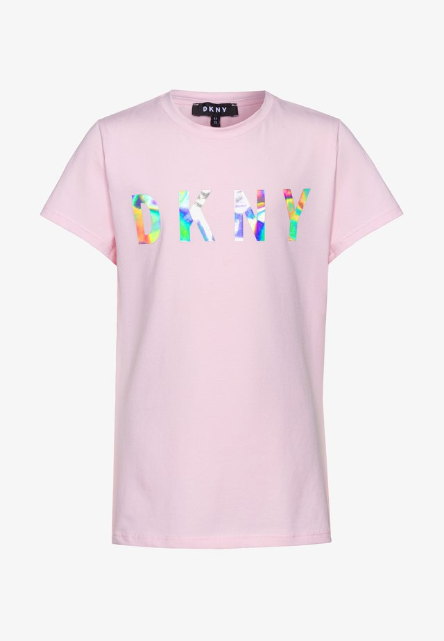 SHORT SLEEVES - T-shirt imprimé - pale pink