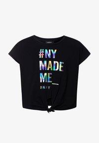 DKNY - FANCY  - Print T-shirt - black - 0