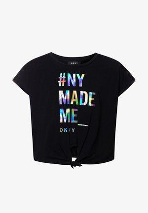 FANCY  - Print T-shirt - black