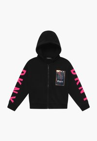 DKNY - HOODED - Mikina na zip - black - 0