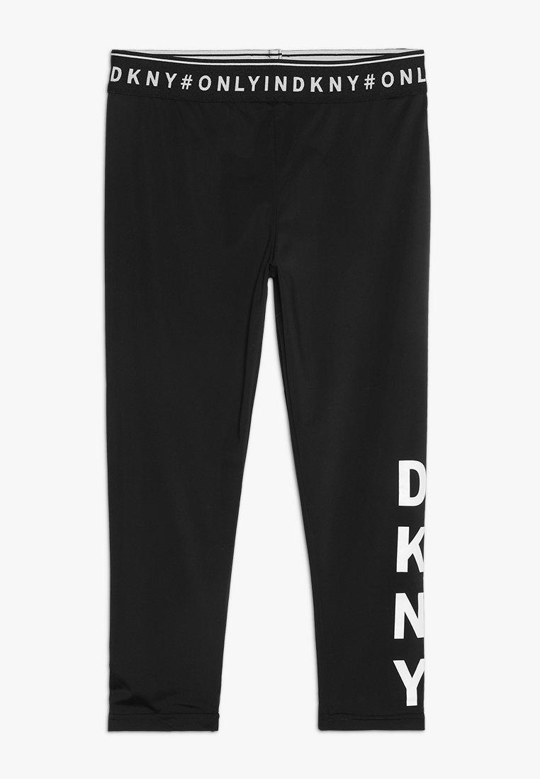 DKNY - RADLERHOSE - Leggings - schwarz