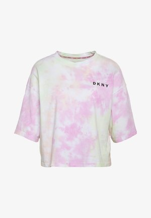 MULTI TIE DYESHORT SLEEVE CREW NECK TEE - Print T-shirt - multi-coloured