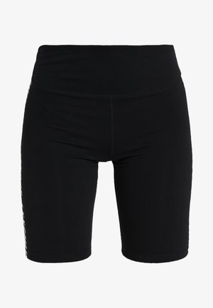 HIGH WAIST BIKE FINISH LINE LOGO - Collants - black