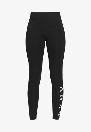 HIGH WAIST FULL LENGTH LOGO - Tights - skyline