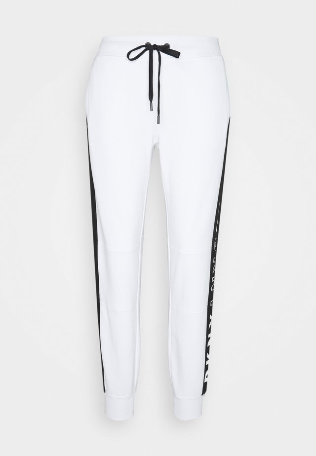 COLORBLOCK JOGGER - Trainingsbroek - white
