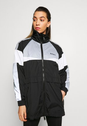 REFLECTIVE BLOCKED WINDBREAKER - Veste de survêtement - black