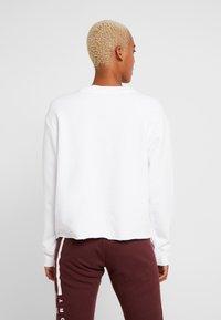 DKNY - EXPLODED STRIPE LOGO - Sweater - white - 2
