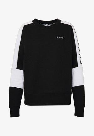 LOGO FLIP - Sweatshirt - black