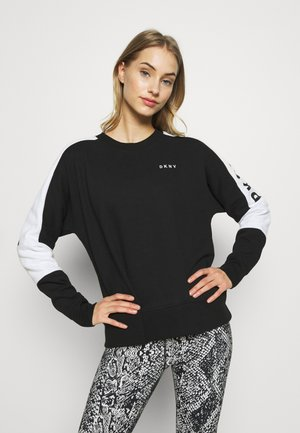 LOGO FLIP - Sweater - black