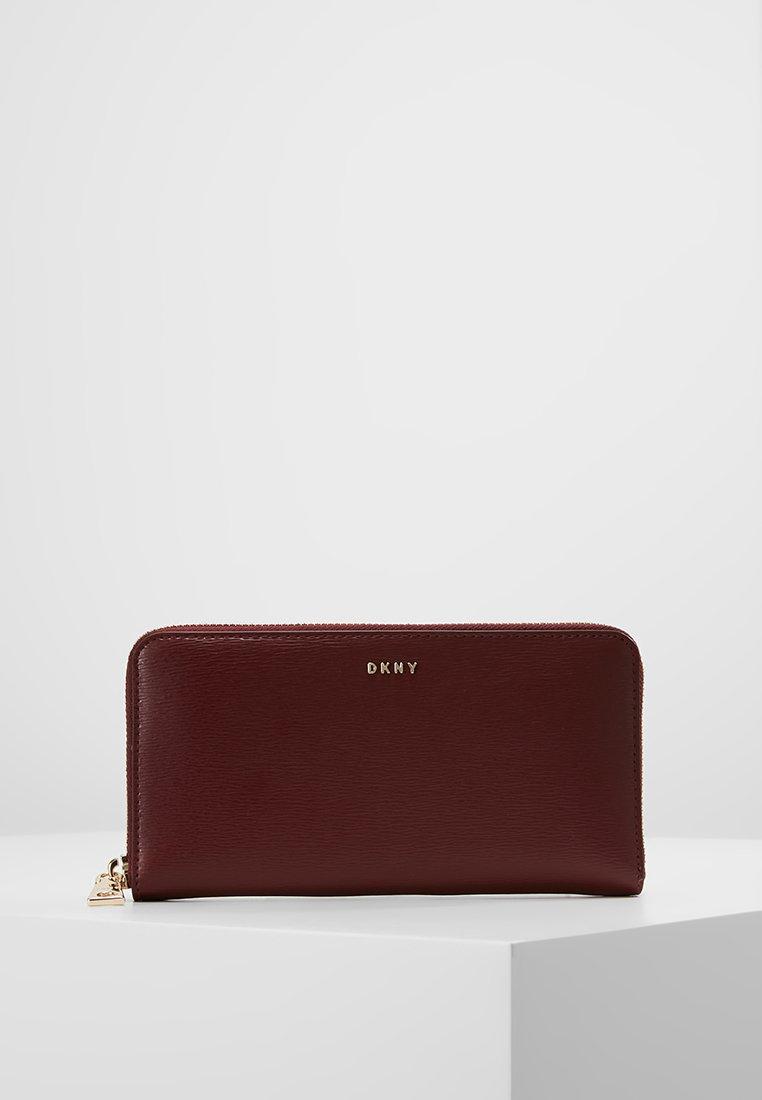 DKNY - BRYANT SUTTON BRYANT NEW ZIP AROUND - Wallet - blood red