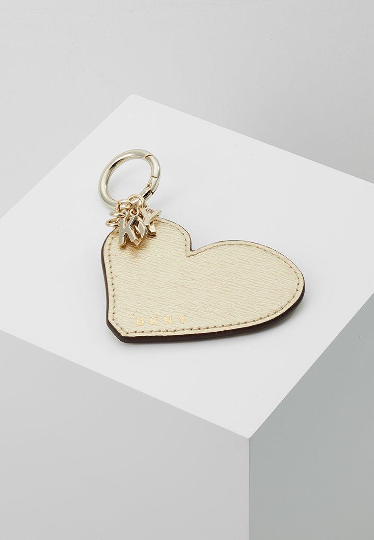 DKNY - HEART KEY FOB - Schlüsselanhänger - gold