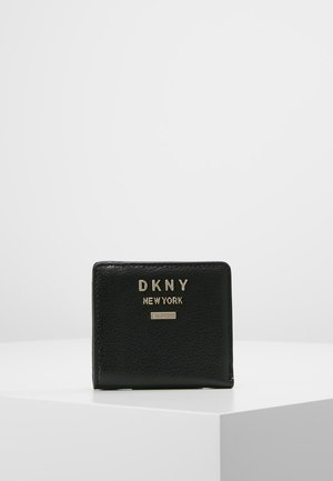 WHITNEY BIFOLD WALLET - Portefeuille - black/gold