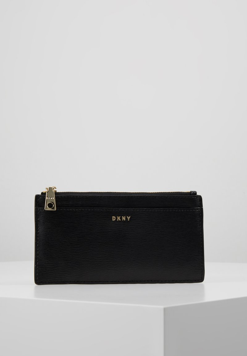 DKNY - BRYANT SLIM WALLET - Wallet - black/gold