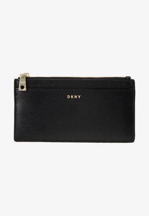BRYANT SLIM WALLET - Portemonnee - black/gold