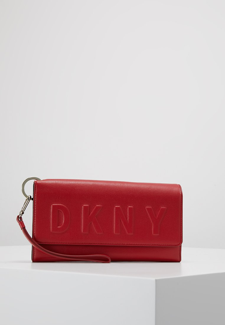 DKNY - CARRYALL - Wallet - saf red