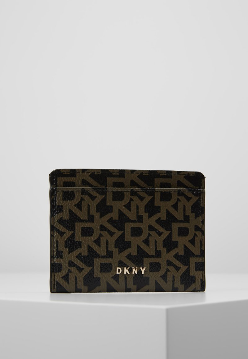 DKNY - BRYANT CARD HOLDER LOGO - Käyntikorttikotelo - ebony/black