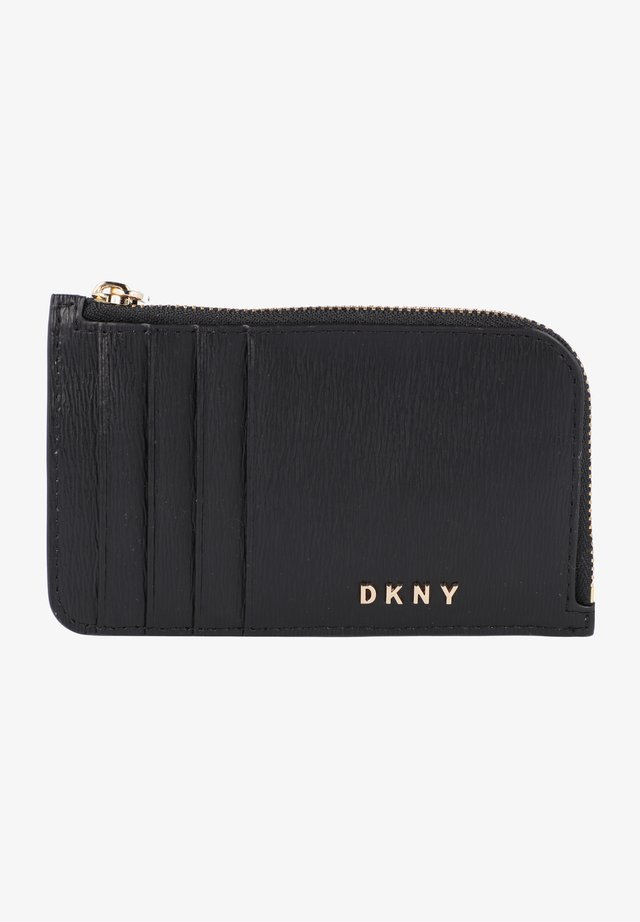 BRYANT  - Business card holder - blk/gold