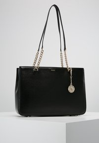 DKNY - BRYANT  - Shopping bag - black/gold - 0