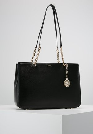 BRYANT  - Shopping Bag - black/gold