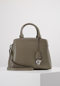 DKNY - SATCHEL - Käsilaukku - clay - 0