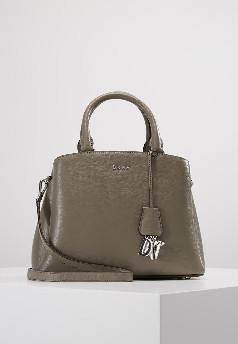 DKNY - SATCHEL - Käsilaukku - clay