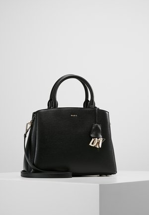 SATCHEL - Torebka - black/gold