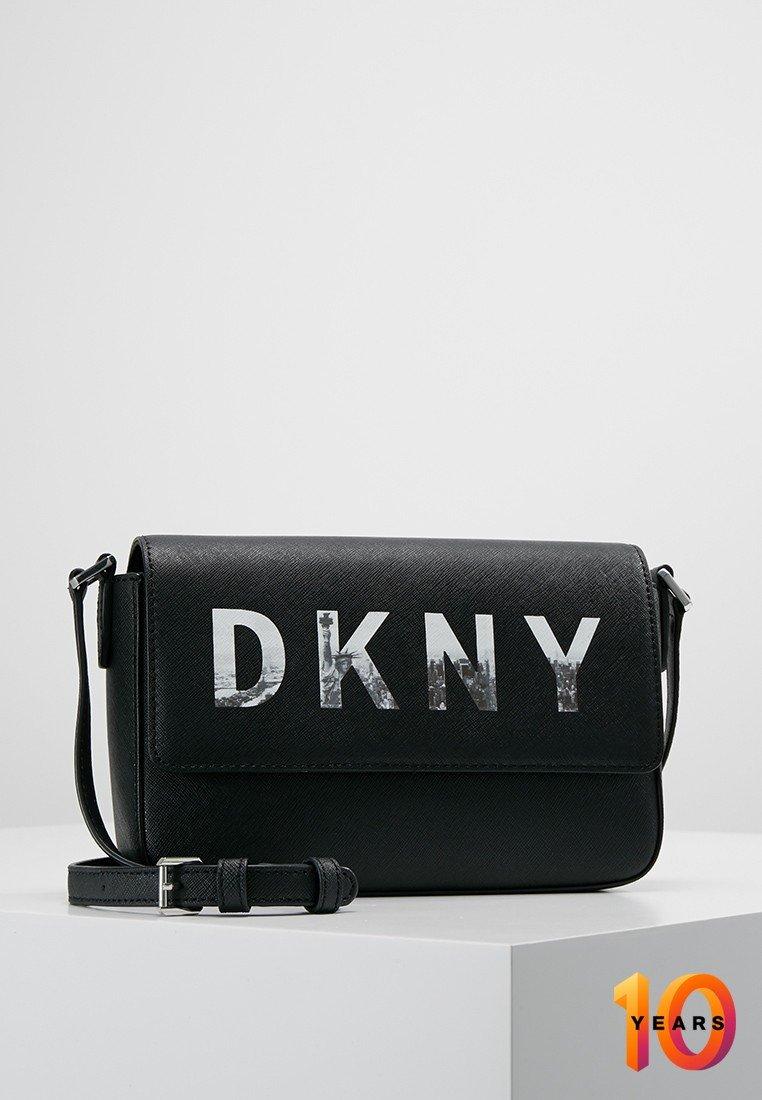 DKNY - EXCLUSIVE SKYLINE GROUP - Torba na ramię - black/silver