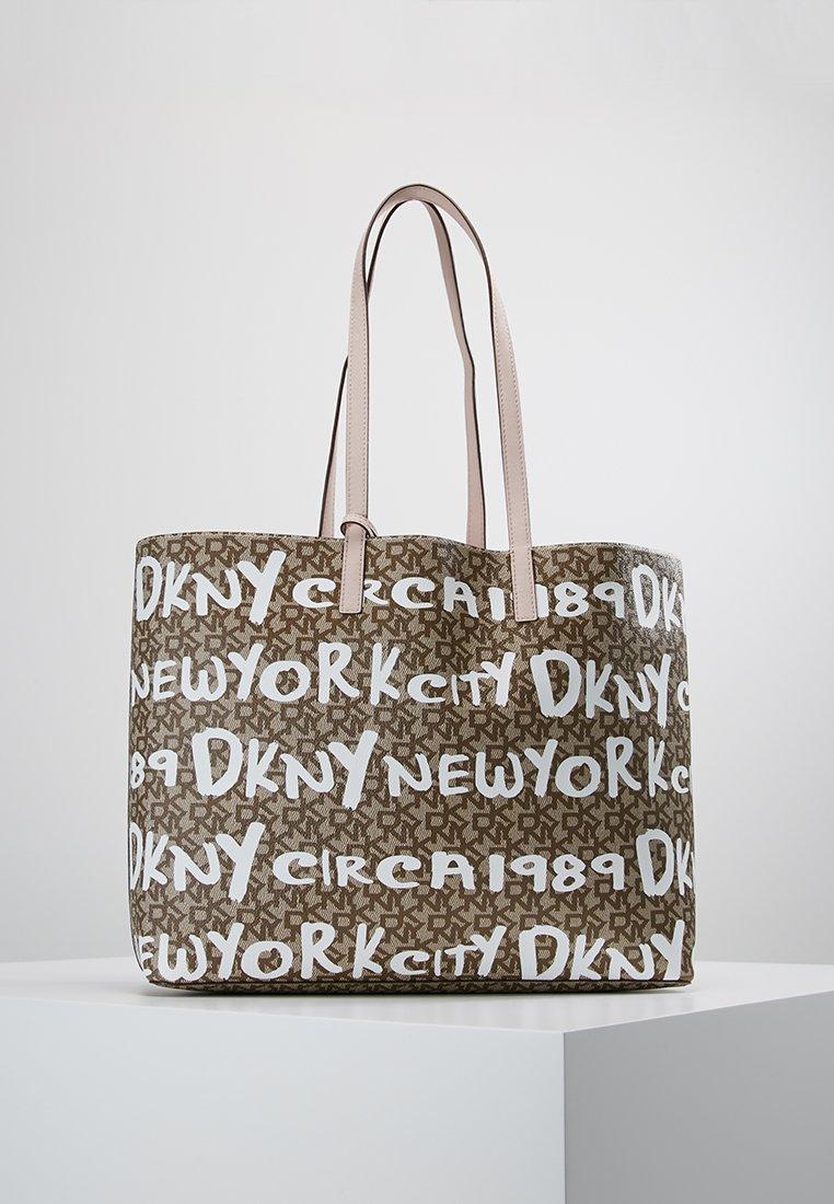 DKNY - BRAYDEN LARGE REVERSIBLE TOTE - Tote bag - rose