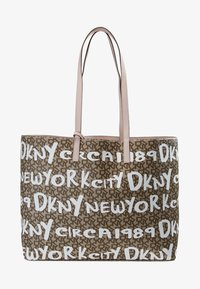 DKNY - BRAYDEN LARGE REVERSIBLE TOTE - Tote bag - rose - 7