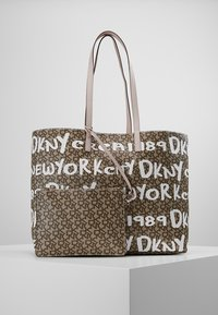 DKNY - BRAYDEN LARGE REVERSIBLE TOTE - Tote bag - rose - 5