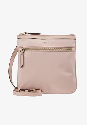 CASEY ZIP CROSSBODY - Across body bag - nude