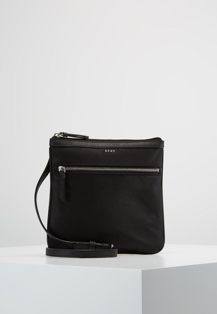 DKNY - CASEY ZIP CROSSBODY - Across body bag - black