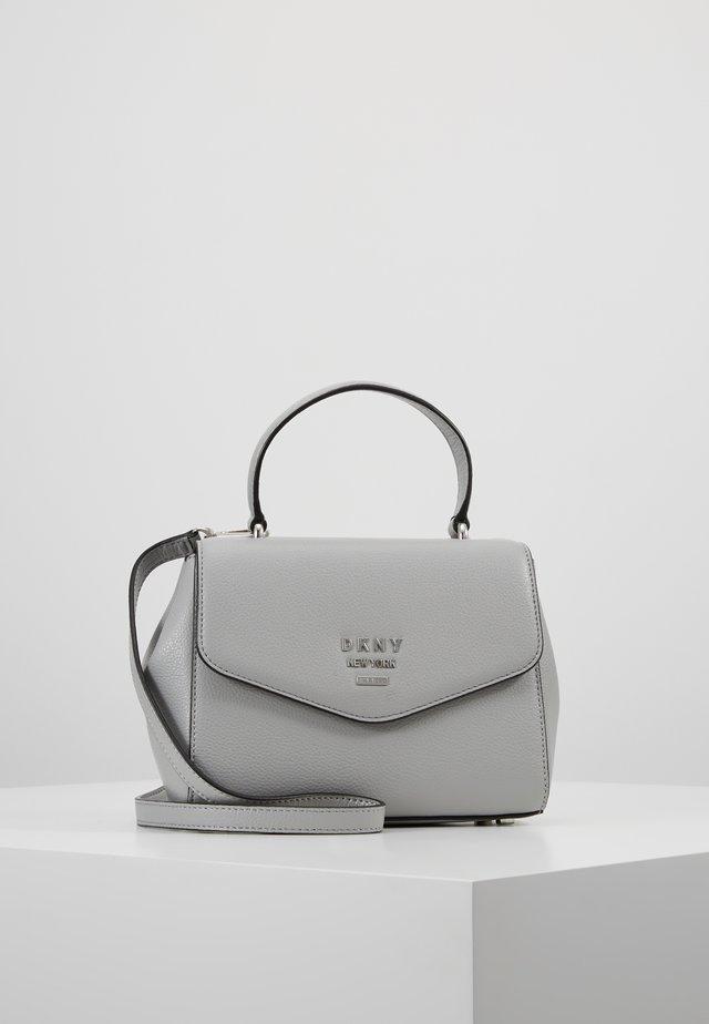 WHITNEY SATCHEL - Across body bag - grey melange