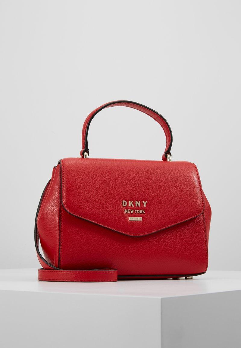 DKNY - WHITNEY SATCHEL - Across body bag - rouge