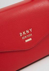 DKNY - WHITNEY SATCHEL - Skulderveske - rouge - 7