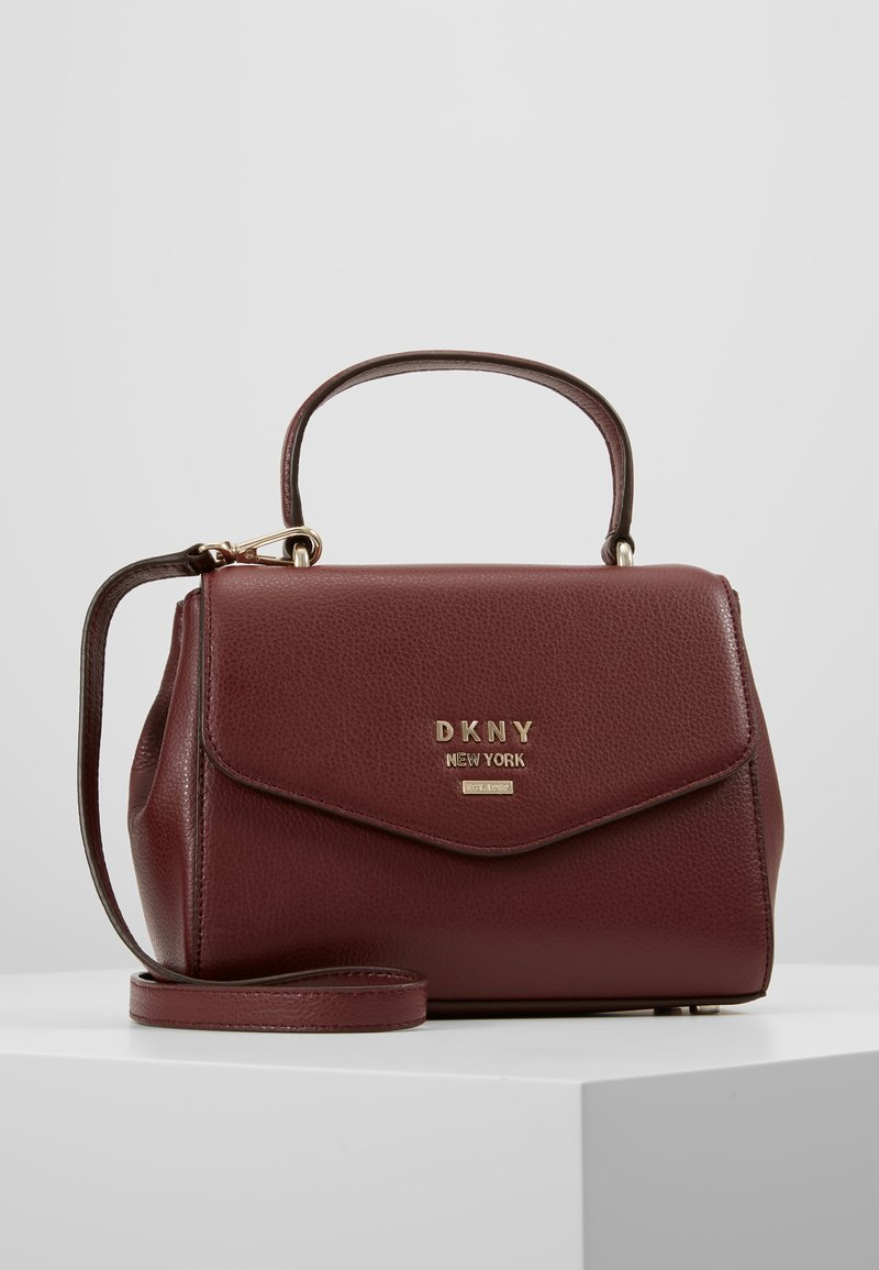 DKNY - WHITNEY SATCHEL - Across body bag - blood red
