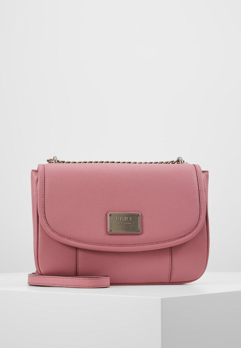 DKNY - COLUMBUS - SHOULDER FLAP - Handbag - canyon rose