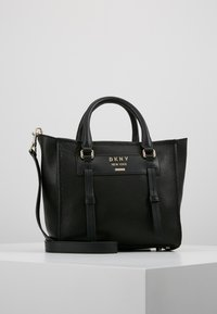 DKNY - WARREN  - Handtasche - black/gold-coloured - 0